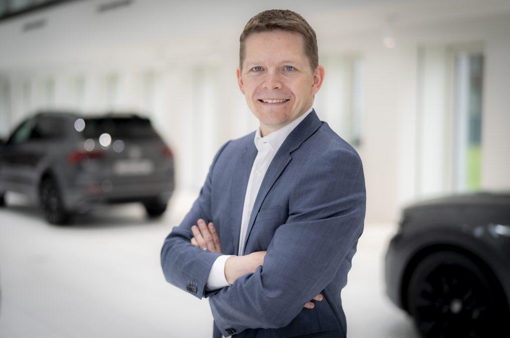 Gunnar Bärwaldt, Konzernentwicklungskoordinator Laden bei Volkswagen